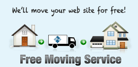 We'll move your site for free